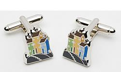 Beside the Sea Cufflinks