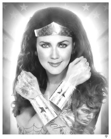 Wonder Woman - Black and White