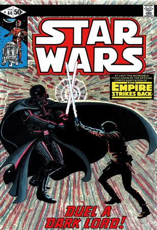 Marvel Star Wars #44 - The Empire Strikes Back - Duel A Dark Lord