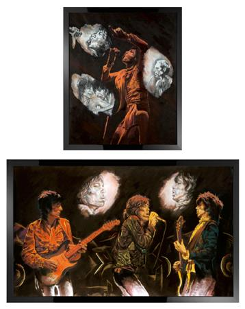Stones Raw Panels - Boxed Canvas Editions