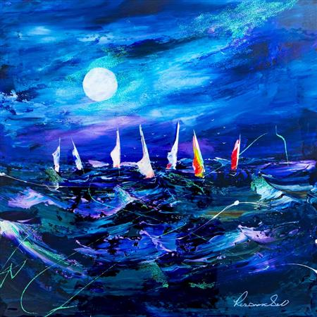 Moonlight Sailing