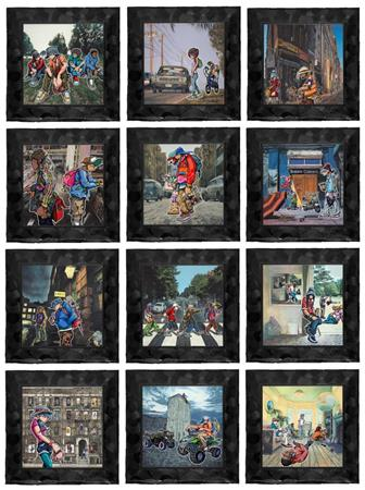 Cover Versions Set of 12 Canvas Editions
